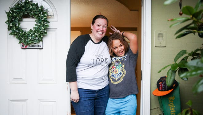 Brianna Robbins and her son Javon, 13, live in Eugene. Javon has been in six schools since he started kindergarten; he struggles with attention deficit disorder and was diagnosed with prenatal alcohol exposure. Brianna adopted him when he was 21 months old.