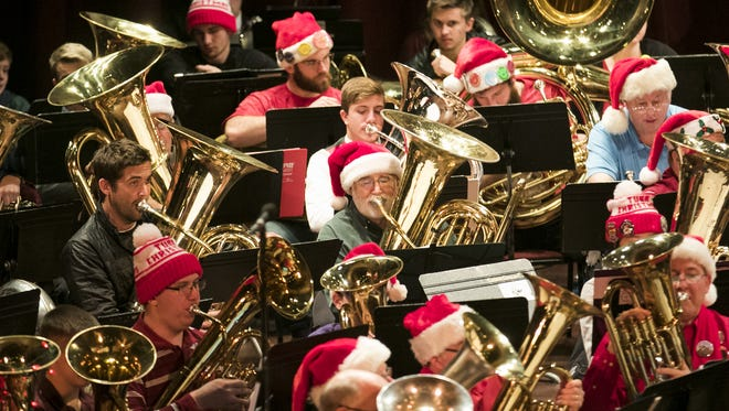 Salem Tuba Holiday: This annual musical production features musicians from all over the Northwest who play instruments which include the baritone horn, euphonium, tuba, and Sousaphone playing arrangements of Christmas carols and holiday songs, noon Sunday, Dec. 24, Elsinore Theatre, 170 High St. SE, Salem. $10