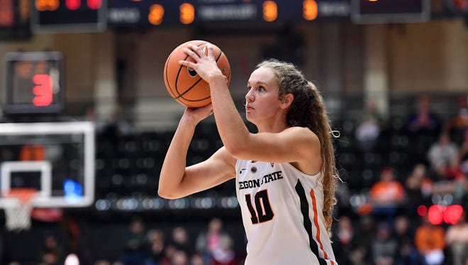Oregon State junior guard Katie McWilliams is one of the most versatile players on the Beavers' roster.