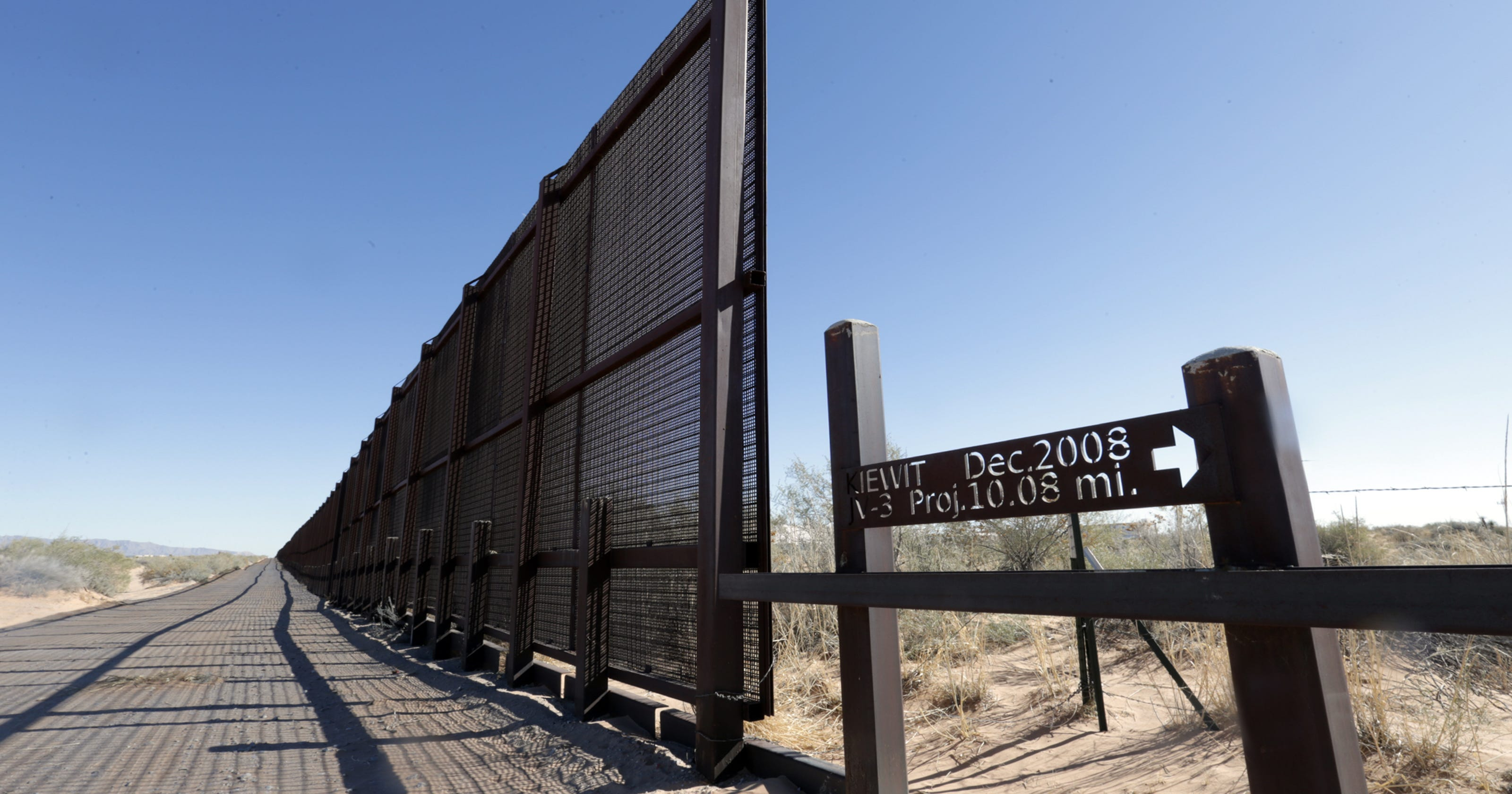 Montana Company Gets 73m Contract For Border Fence Work