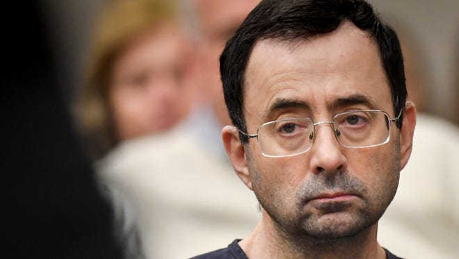 Former USA Gymnastics team doctor Larry Nassar was sentenced to 40 to 175 years in prison on Wednesday in Ingham County Circuit Court in Michigan.