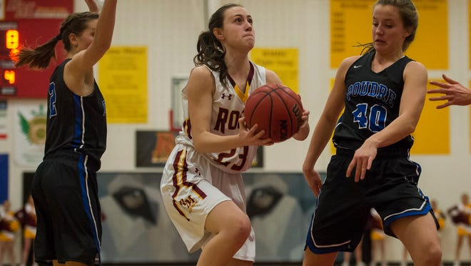 Rocky Mountain's Maddy Bennett led the Lobos with 13 points in a 55-44 win over Poudre on Friday night.