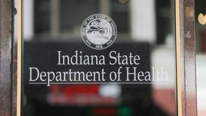 Indiana State Department of Health, located at 2 N Meridian St., Indianapolis, Ind. on Tuesday, Feb. 27, 2018.