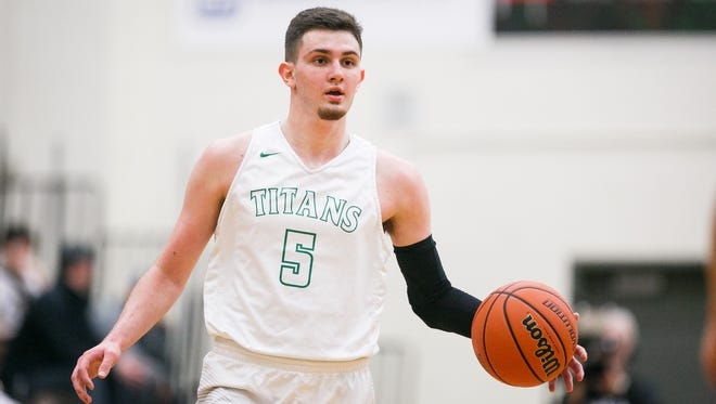 West Salem guard Kyle Greeley led Titans to a second consecutive OSAA Class 6A state tournament appearance.
