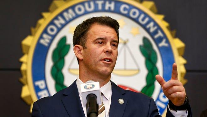 Monmouth County Prosecutor Christopher Gramiccioni.