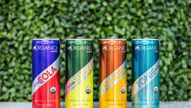 Red Bull will launch a line of organic sodas next week