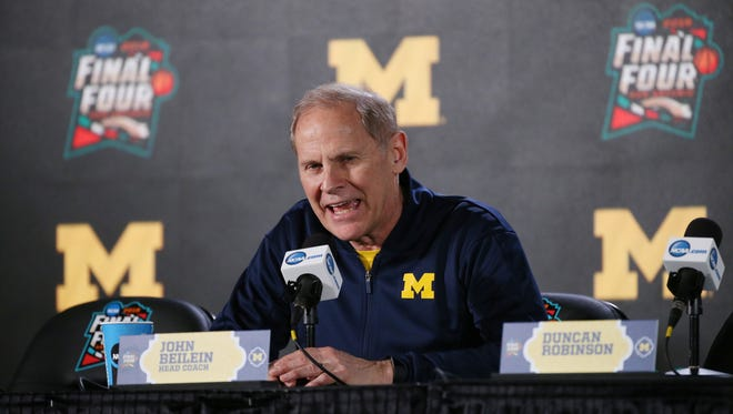 Michigan coach John Beilein.