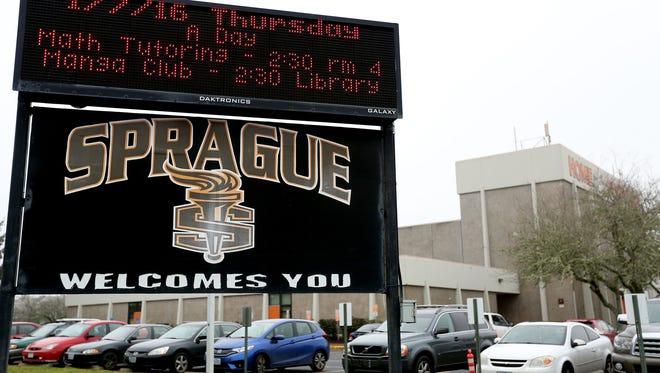 Sprague High School in Salem. Photographed on Thursday, Jan. 7, 2016.