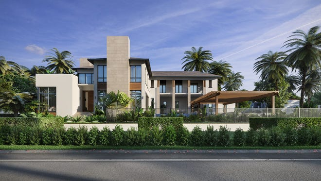 Clive Daniel Homes is creating the interior for this home at 333 Gulf Shore Blvd. S.