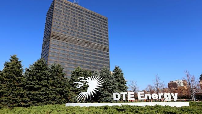 DTE Energy in Detroit.