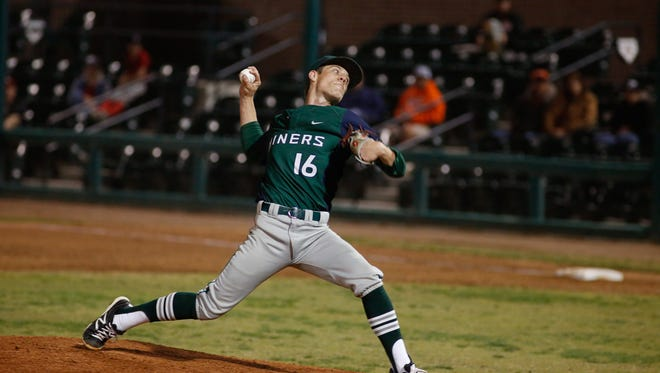 With four games left in the regular season, El Diamante pitcher Chase Watson and the Miners own a 7-1 record in West Yosemite League play.