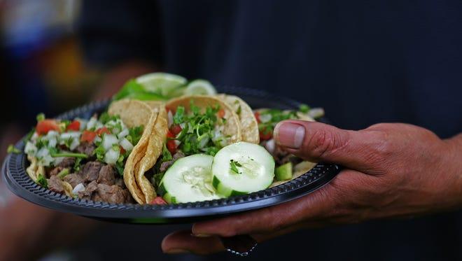 Taco and margarita specials are popular in celebration of Cinco de Mayo.