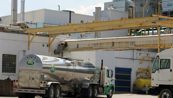 Wisconsin milk processors Foremost Farms USA and Arla Foods, look to forge international strategic partnership in whey market. The Arla Food plant is located just east of Kaukauna in Hollandtown.