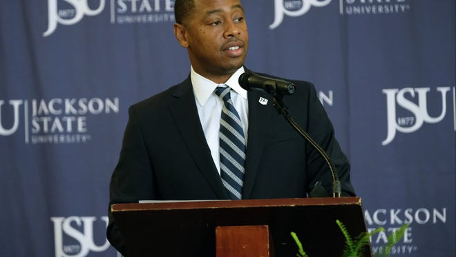 Incoming Jackson State Vice President and Director of Athletics Ashley Robinson faces several challenges as he takes over his new post.