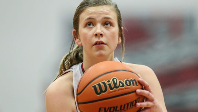 Danville Warriors' Ella Collier is one of the best players in Indiana.