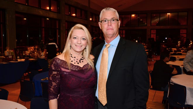 Rika Edge and Chris Baggett at the Justice For All Ball, for Northwest Florida Legal Services.