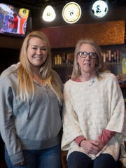 Macy Anderson, left, and mother Patti Anderson are the owner and operators of the Tennessee Tap house.