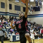 Wade Hampton senior Preston Parks (4) was named to the Class AAAA boys basketball all-state team.