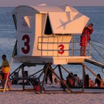 After ending last year's season in October, Pensacola Beach Lifeguards will return to their towers March 1 for the 2016 season.