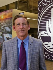 Grand Canyon University President Brian Mueller says the university is working to improve the appeal of its west Phoenix neighborhood.