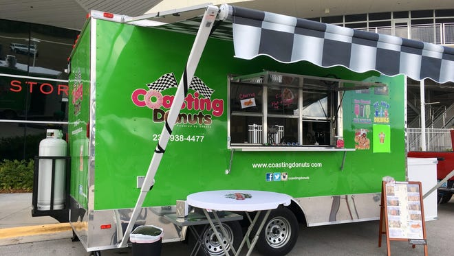 The Coasting Donuts food truck opened in December 2016.