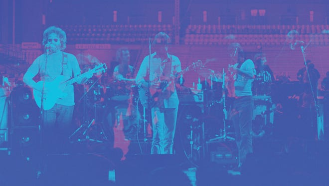 The Grateful Dead's concert at Cornell's Barton Hall was just one of many college shows on the 1977 tour.