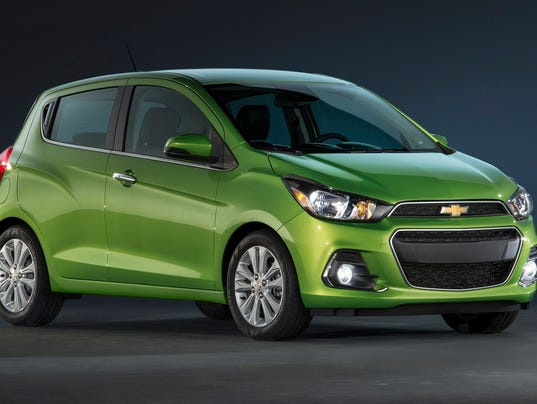 2016 chevy spark aims to attract younger buyers