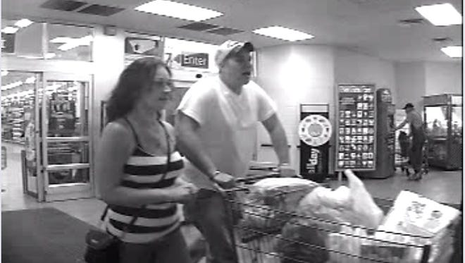 Clarksville Police say these two may be suspects in theft case.