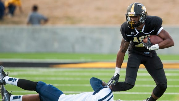 Alabama State's Willis White caught 36 passes for 337