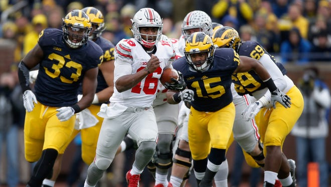 How Michigan deals with J.T. Barrett could be a factor in the Big Ten East Division title race.