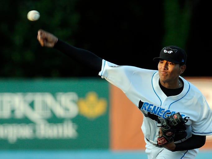 The Hudson Valley Renegades host the Brooklyn Cyclones on Tuesday in Fishkill. @DBatPojo