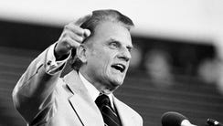 The Rev. Billy Graham told the crowd June 29, 1979,