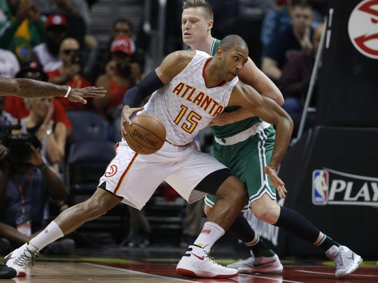 Hawks center Al Horford is expected to be highly pursued in free agency. But Atlanta will be able to make the biggest offer.