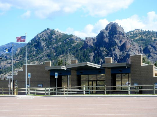 Northbound rest area at the Dearborn exit on Interstate 15.
