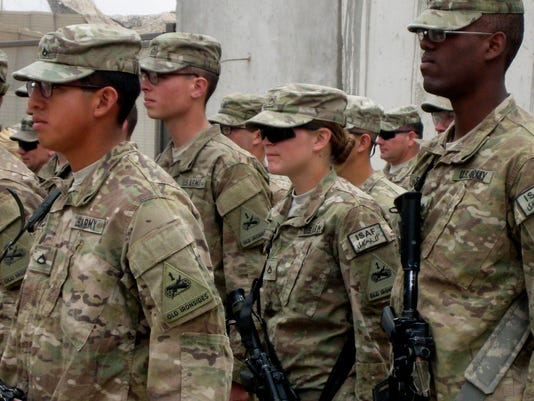 What military recruiters aren't telling women