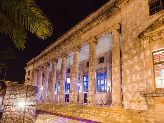 Sidney & Berne Davis Art Center in downtown Fort Myers