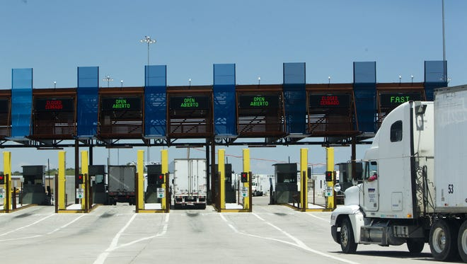 The Mariposa Port of Entry in Nogales.