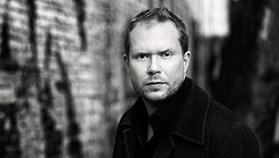 Jonas T. Bengtsson, author of 'A Fairy Tale.'