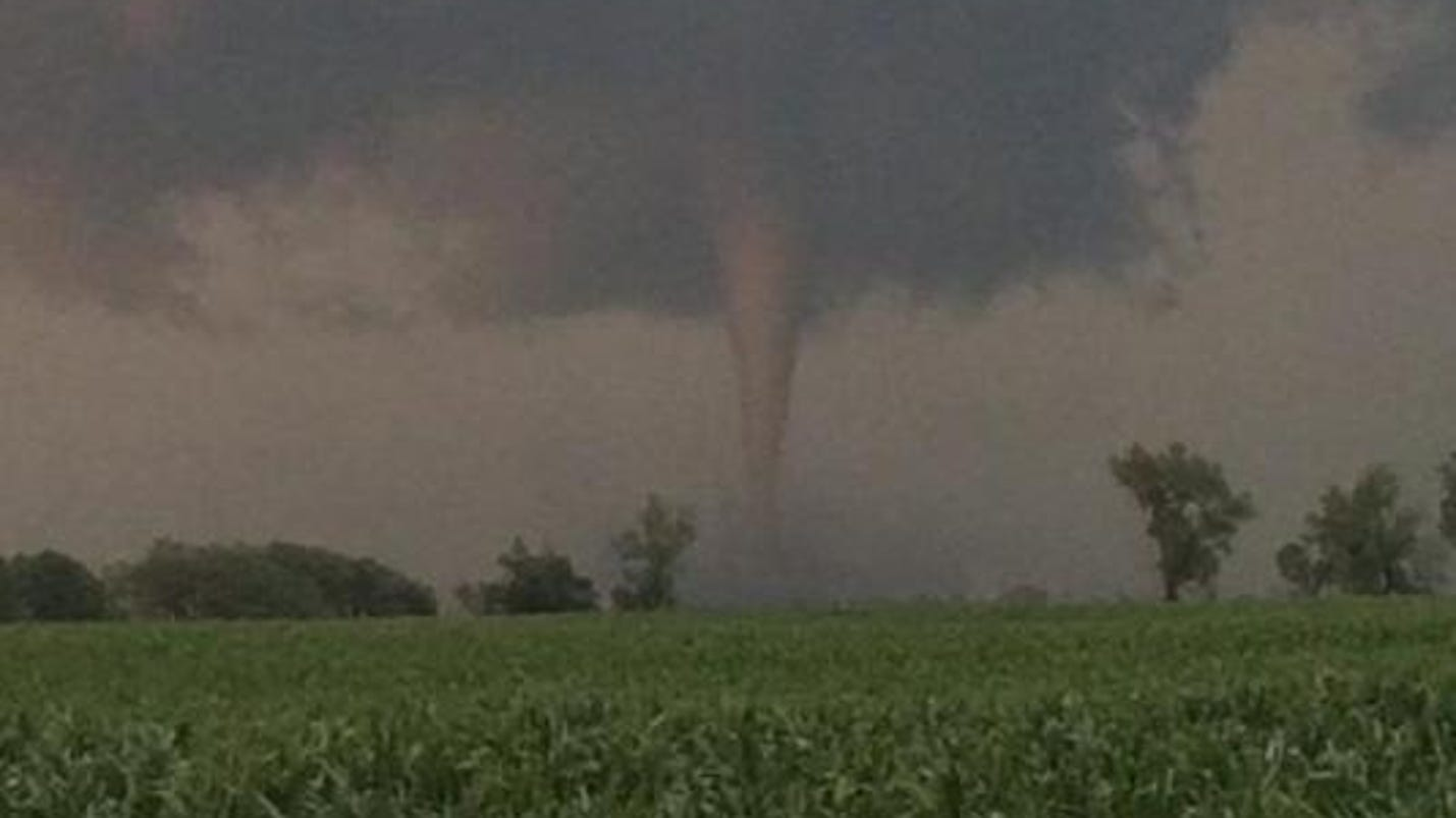 Tornado near Huron classified as EF-1