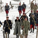 """Scottish and English soldiers decided to take a break from the trenches on Christmas Eve in """"Joyeux Noel."""""""