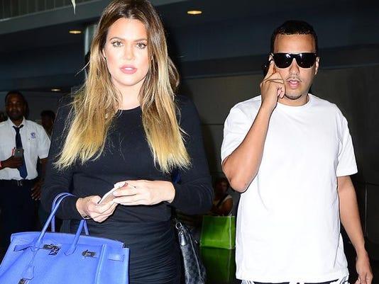 Khloe Kardashian and French Montana
