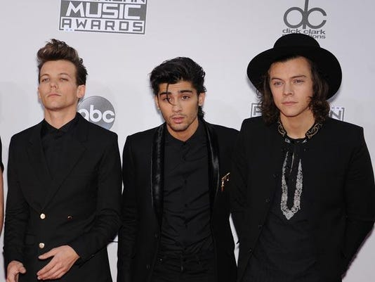 Harry, Zayn and Louis