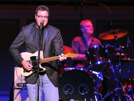 Vince Gill will perform on May 1 at the Palladium.