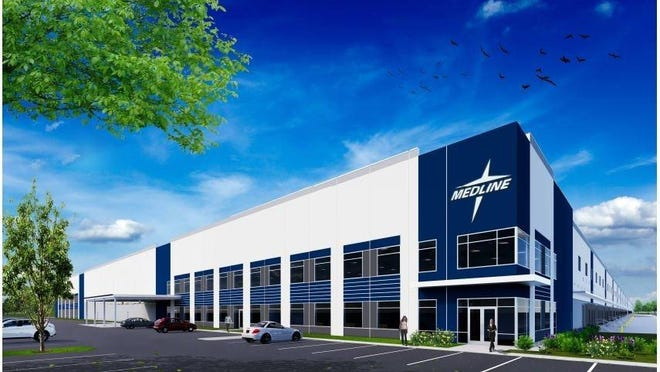 The town Planning Board on Monday approved an Environmental Quality Review Act (SEQR) findings statement for Medline's 1.3-million-square-foot distribution center.