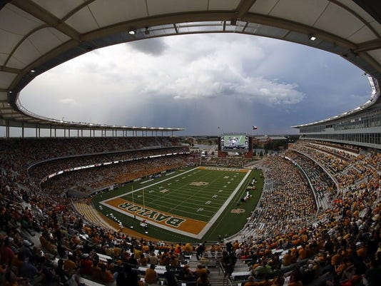 USP NCAA FOOTBALL: OKLAHOMA STATE AT BAYLOR S FBC USA TX