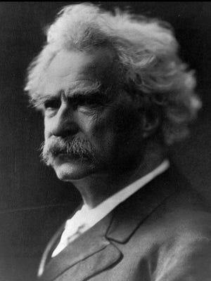"This is an undated file photo of author Samuel Clemens, who wrote under the pen name ""Mark Twain."""