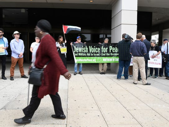 The Jewish Voice for Peace of Northern NJ and other