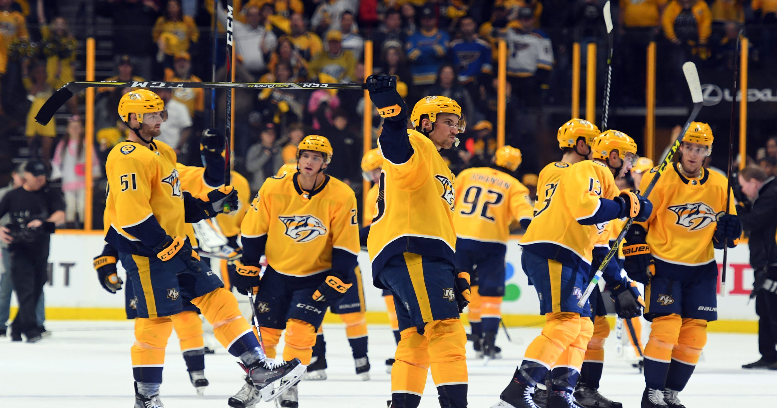 NHL Stanley Cup playoffs 2018  Who would be Predators  playoff opponent  196ad0a87