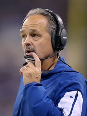 With the Colts since 2012, Pagano has won 44 games