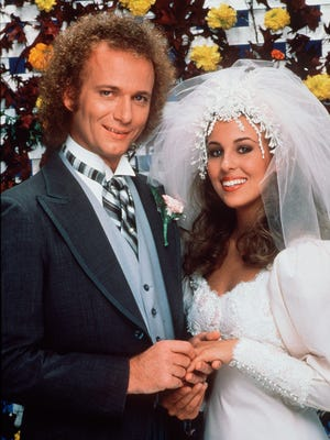 """Luke (Anthony Geary) and Laura (Genie Francis) tied the knot on """"General Hospital"""" in November 1981. But that was after a drunken Luke raped her."""